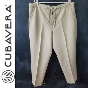 Men's Cubavera Drawstring Pants Size 1x/32